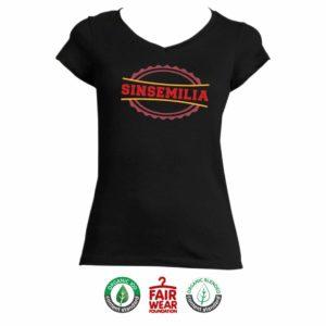 """T-shirt Femme """"Sinsémilia"""" - Noir"""