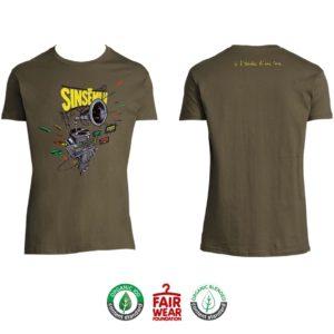 """T-shirt Homme """"À l'échelle d'une vie"""" - Army"""