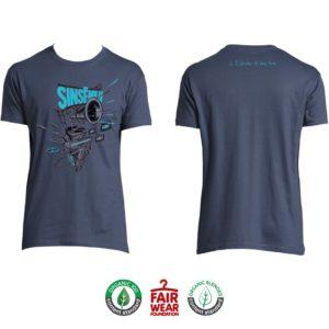 """T-shirt Homme """"À l'échelle d'une vie"""" - Demin"""