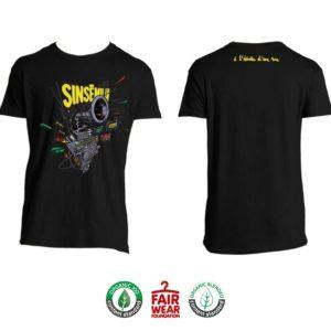 """T-shirt Homme """"À l'échelle d'une vie"""" - Noir"""